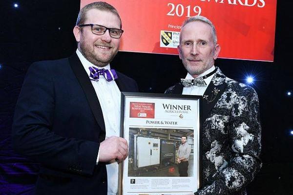 Agricultural Award Winner - West Wales Business Awards 2019